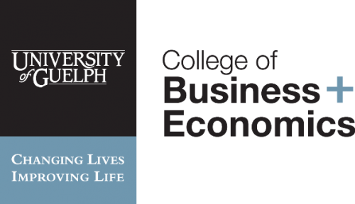 College of Business and Economics logo and link to homepage.