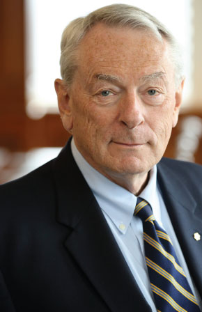 Dick Pound, chair of UofG sport business and leadership institute