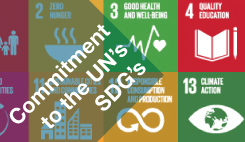 Our Commitment to the SDG's