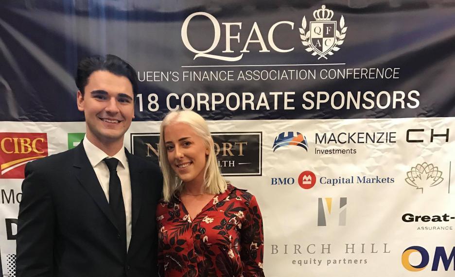Haley and Luka at QFAC 2018