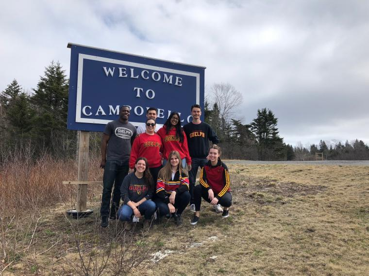 Students in Campobello Island