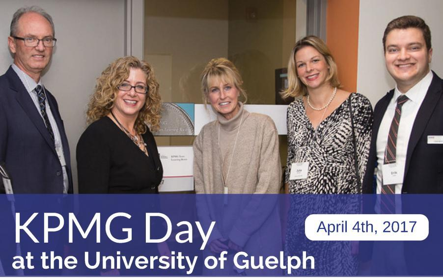 KPMG Day at the University of Guelph