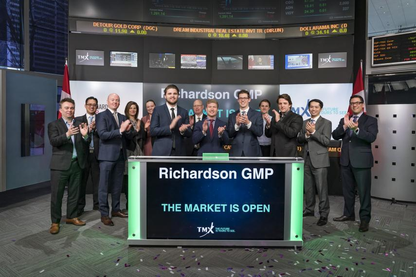 U of G students with Richardson GMP opening TSX