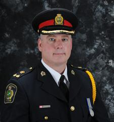 Bryan MacCulloch in police uniform