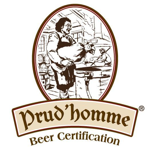 Prud'Homme Beer Certification Logo