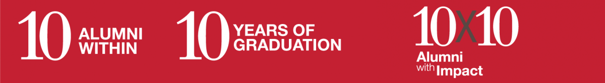 10 alumni within 10 years of graduation