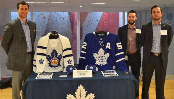 MLSE at networking event