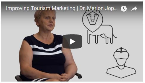 screenshot of Youtube video featuring marion joppe uofg