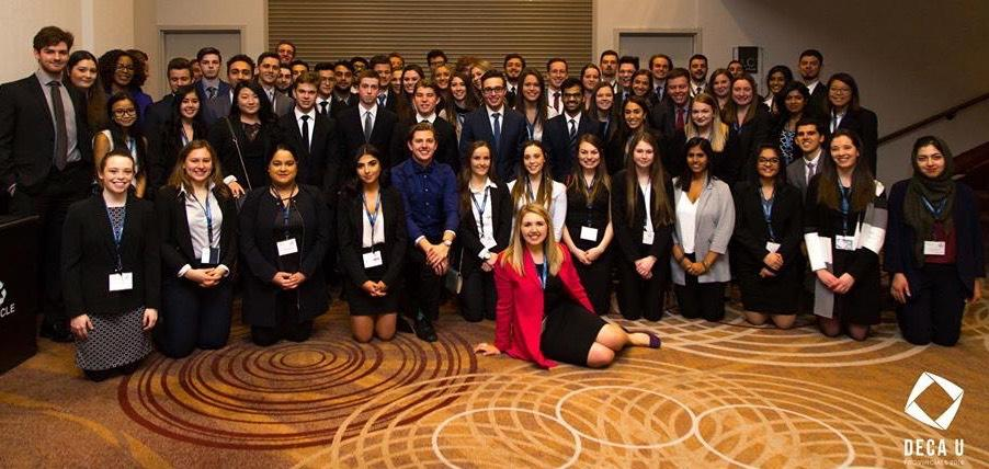 University of Guelph DECA U students