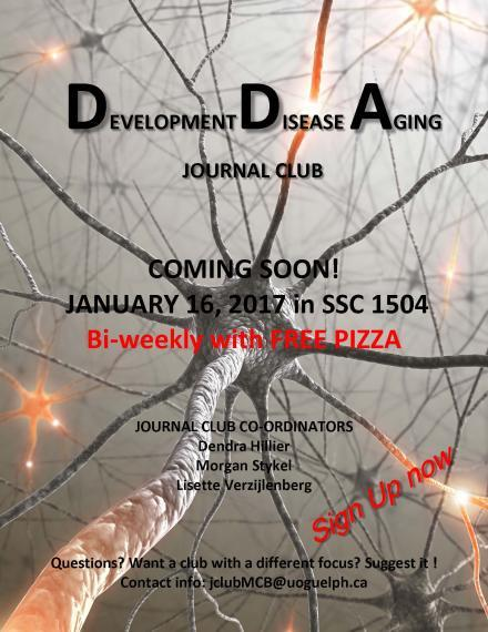 Disease, Development, and Aging (DDA) Journal Club