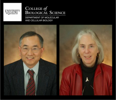 Drs. Joseph Lam and Janet Wood of MCB