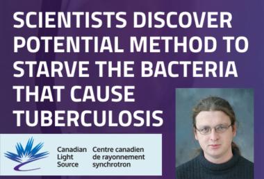 MCB's Dr. Matthew Kimber, and Canadian Light Source