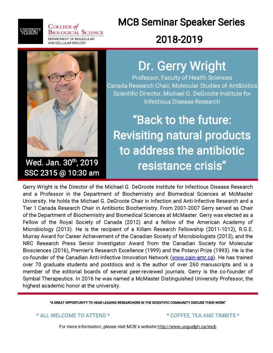 Dr. Gerry Wright