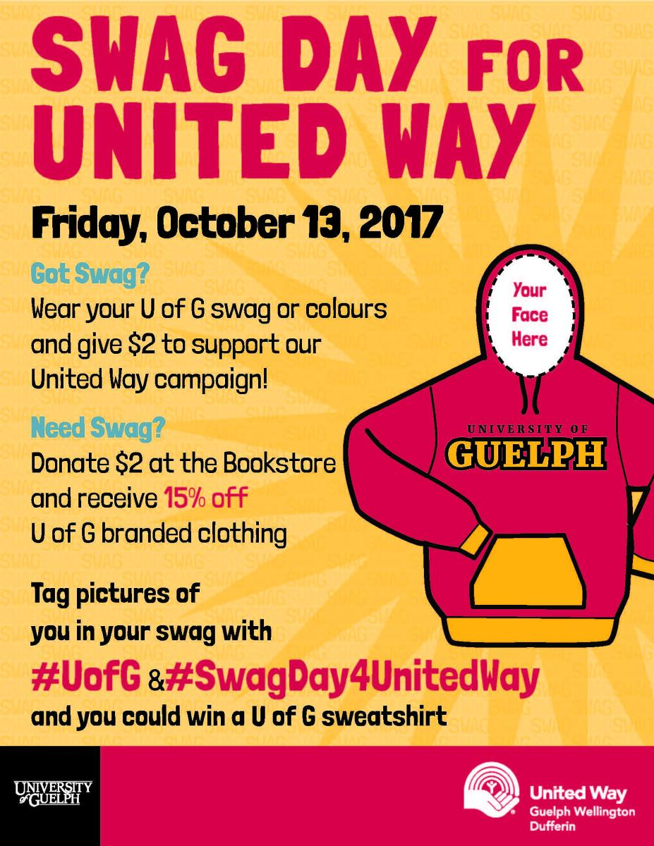 Swag Day for United Way!