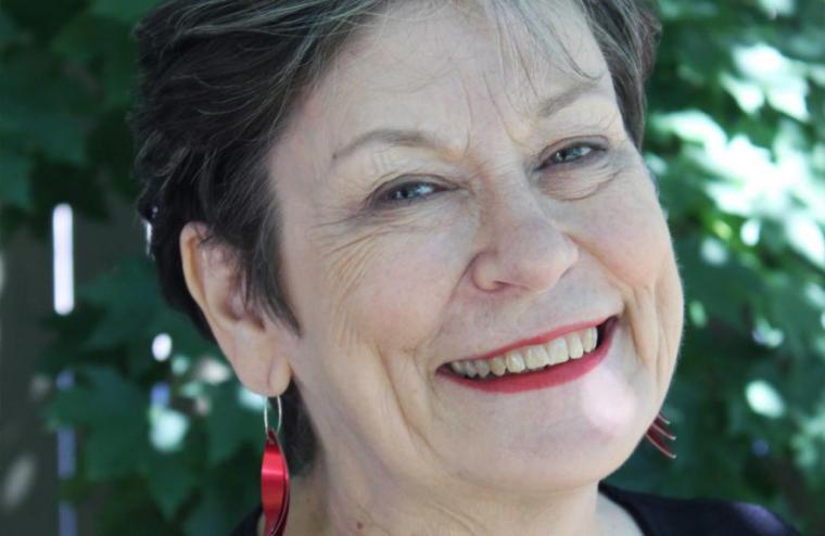 Up close crop of Colleen Mercer Clarke
