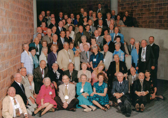 Class of '53 at reunion in 2003