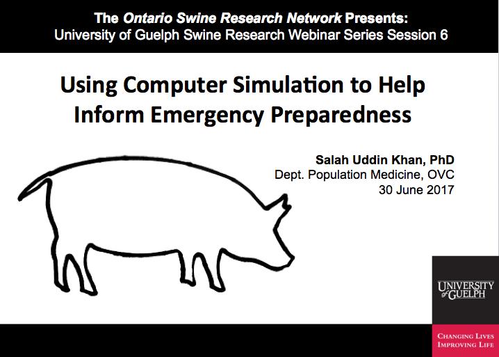 Using Computer Simulation to Help Inform Emergency Preparedness