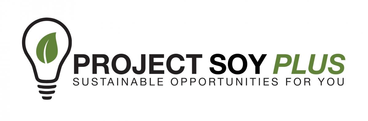 Project SOY Plus logo - Sustainable Opportunities For You