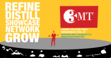 3MT Refine - Distill - Showcase - Network - Grow