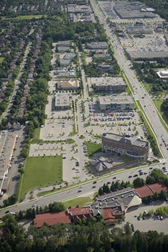 Aerial View of Research Park South