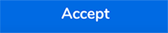 Screenshot of the Accept button on the Change of Address page in WebAdvisor
