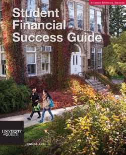Student Financial Success Guide cover