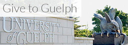 Give to Guelph Action button