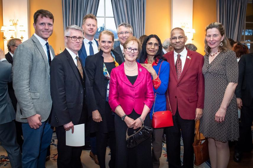 Group photo from NSERC Synergy Award ceremony