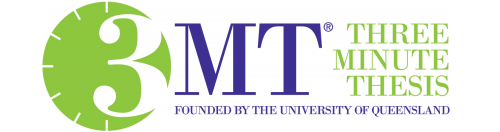 Three Minute Thesis. Founded by the University of Queensland