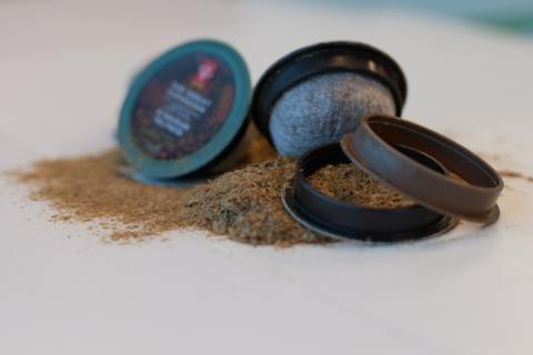 Photo of the coffee pods