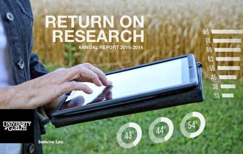 Cover of Return on Research 2015-16