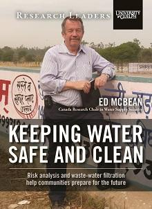 Keeping water safe and clean:  Risk analysis and waste-water filtration help communities prepare for the future