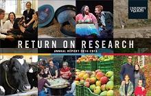 Cover of Return on Research 2014-15
