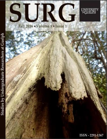 Cover of the latest issue of SURG