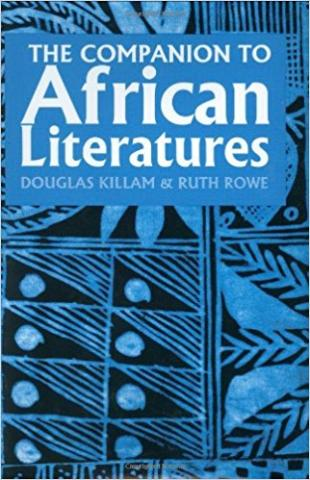Cover of the book The Companion to African Literatures