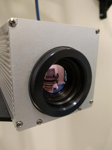 Photo of the thermal sensor in the POSHLab