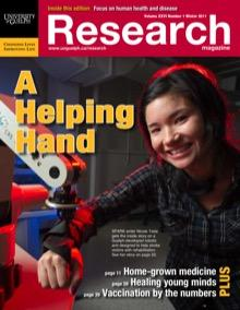 Cover of 'A helping hand' magazine