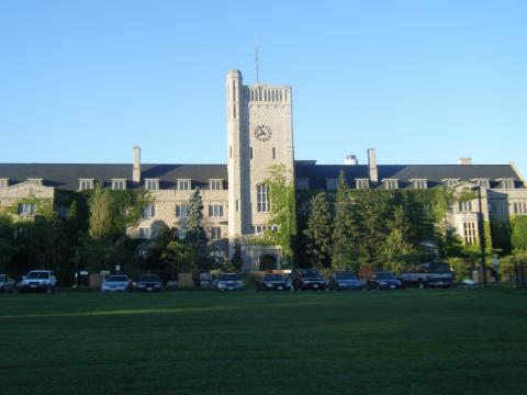 Johnson Green building at the University of Guelph.