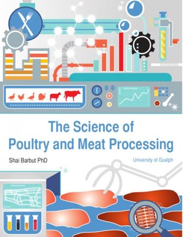 "Cover of Shai Barbut book ""The Science of Poultry and Meat Processing"""
