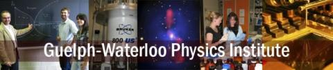 Banner for Guelph-Waterloo Physics Institute (GWPI)