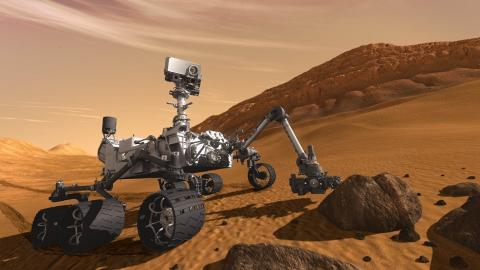 Photo of the Mars Rover