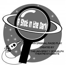 The radio play promotional poster