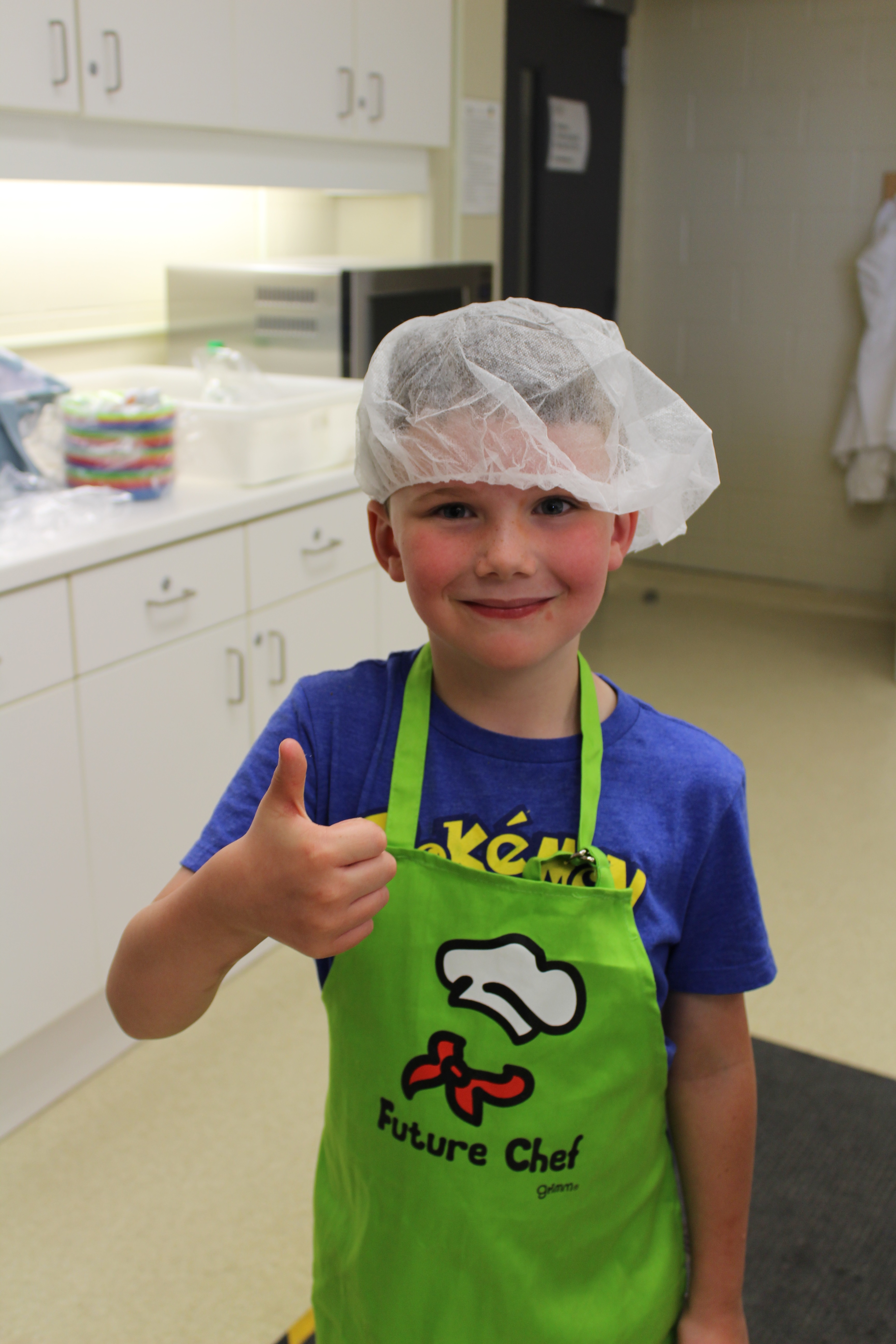 Thumbs up to cooking with kids | Office of Research
