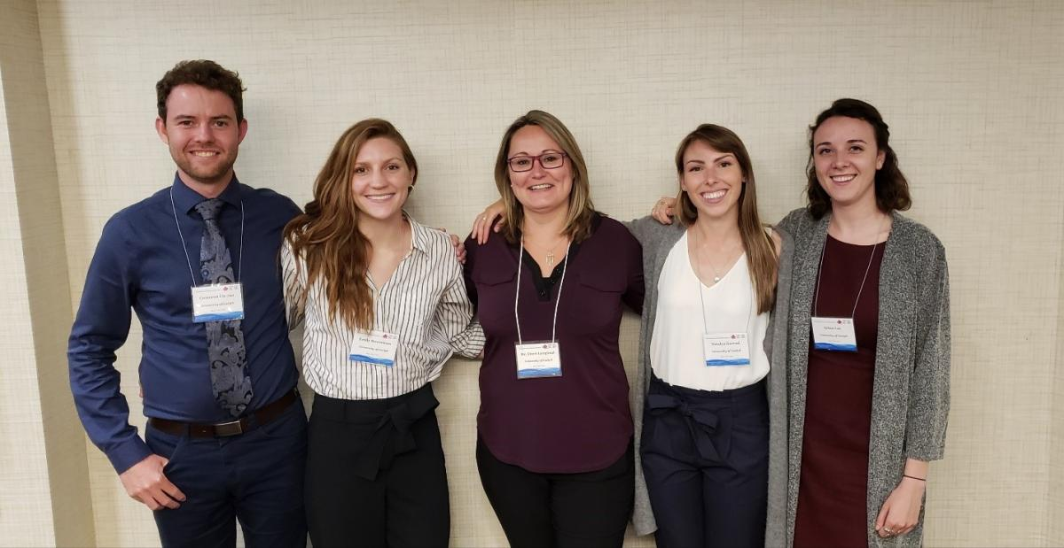 UofG students and Dr. Sheri Longboat at CWRA conference