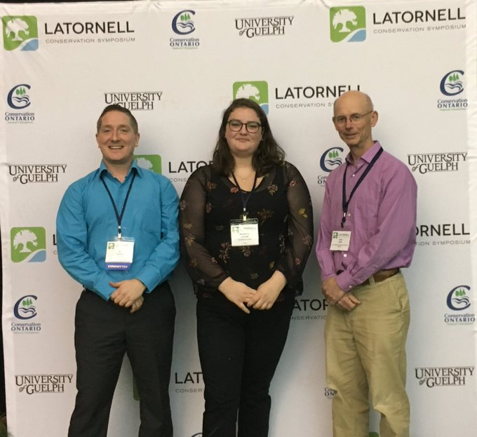 Madeleine Arsenal was awarded the 2019 A.D. Latornell Award of Merit presented by the Soil and Water Conservation Society