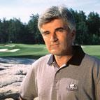 Thomas McBroom on a golf course