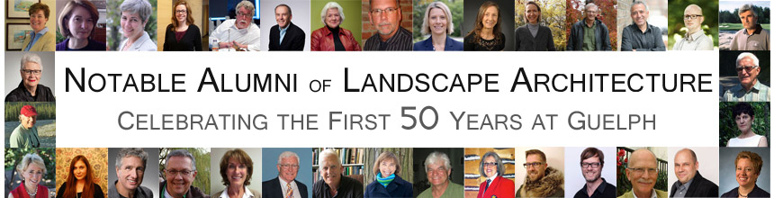 Notable Alumni of Lanscape Architecture Celebrating the First 50 Years