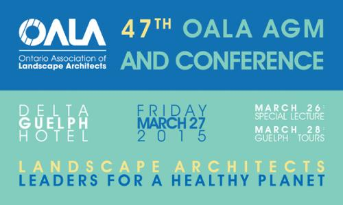 OALA AGM Meeting Poster