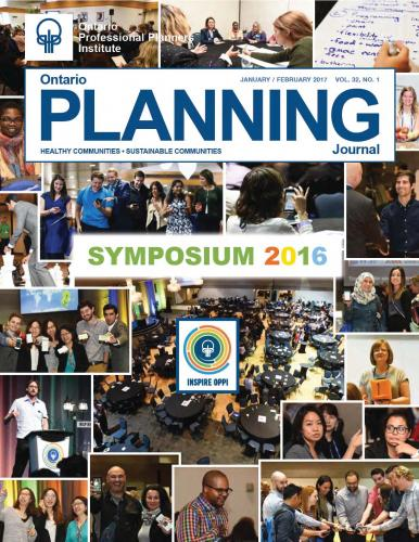 front cover of the OPPI Journal features blocks of student photos from the conference