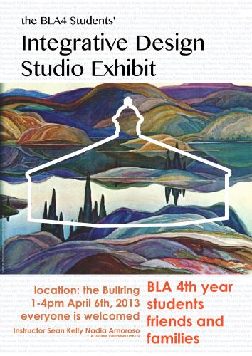 Integrative Design Studio Exhibit Poster